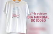 Camiseta dia mundial do idoso